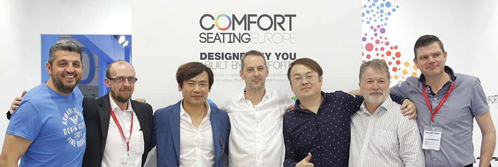 The Comfort Seating Team at CIFF 2016
